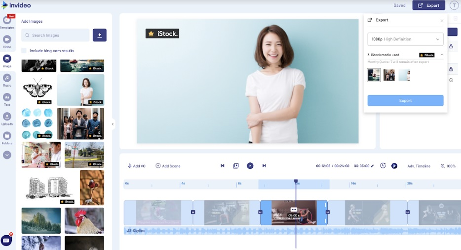 Online Video Editor InVideo Collaborates with iStock, Improves Editing Experience