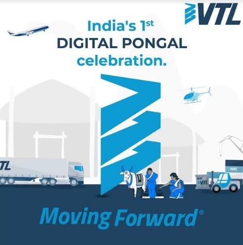 VTL Logistics Celebrates First Digital Pongal