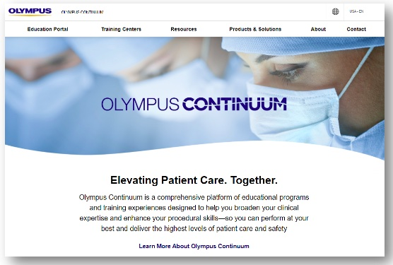 Olympus Launches Comprehensive Global Educational Platform for Healthcare Professionals