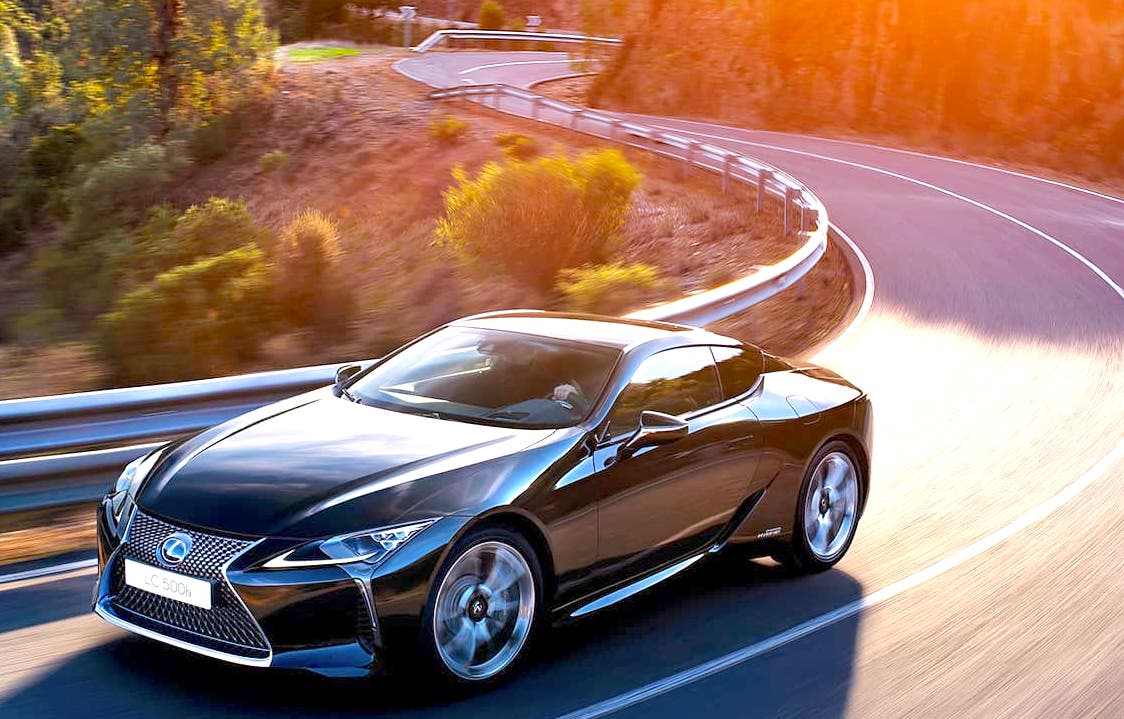 Lexus India Launched Limited Edition Sports Model LC 500h at 2.15 Crore