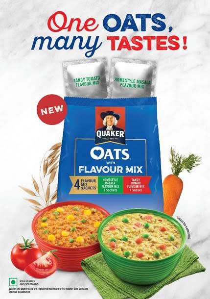 Quaker Oats Brings Food Flavour Innovation