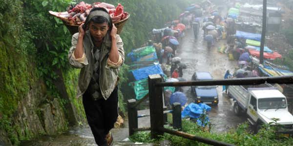 Heavy rainfall Expected in Northeast Over South Assam, Meghalaya, Mizoram and Tripura