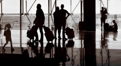 Airport Silhouette_