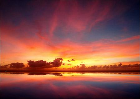 Barbadian Sunset