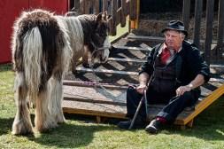 Man with Tatty Pony