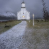 Commended-Storm Light at Gimsoy Church-Dinah Jayes