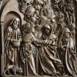 Commended Carved Limewood Detail, Wing Panel C1510, Mauer Bei Melk, Loweraustria Haynes Andre