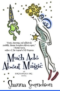 Review: Much Ado About Magic by Shanna Swendson