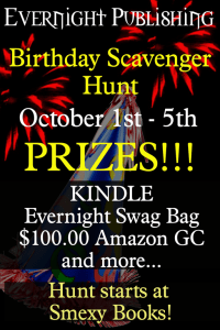 Evernight Publishing Scavenger Hunt