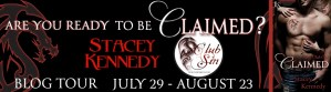 Blog Tour: Are you ready to be Claimed?