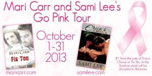 Mari Carr and Sami Lee Go Pink