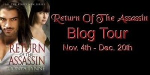 Return of the Assassin Blog Tour