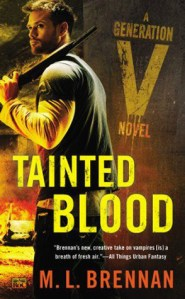 Review: Tainted Blood by M.L. Brennan