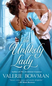 Review: The Unlikely Lady by Valerie Bowman