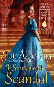 Guest Review: It Started with a Scandal by Julie Anne Long
