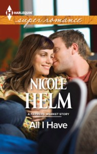 Feature and Giveaway: All I Have by Nicole Helm