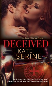 Cover Reveal and Excerpt of Kate SeRine's Deceived