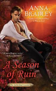 Review: A Season of Ruin by Anna Bradley