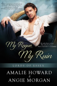 Review: My Rogue, My Ruin by Amalie Howard and Angie Morgan
