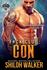 Cover Reveal: Shiloh Walker's F*ck Club: Con