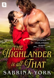 Review: The Highlander is All That by Sabrina York