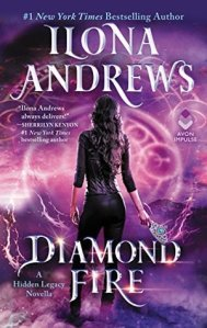 Review and Giveaway: Diamond Fire by Ilona Andrews