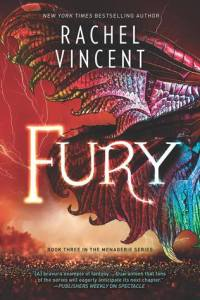 Review: Fury by Rachel Vincent