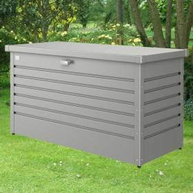 Biohort Metal Leisure Time Storage Box 100 (Display Model) (Metallic Dark Grey)