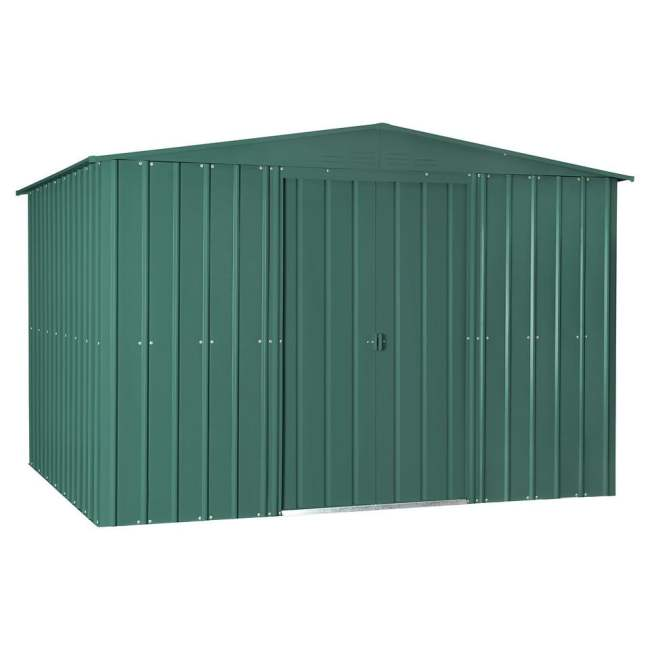 Lotus Apex Metal Shed Heritage Green (Various Sizes)