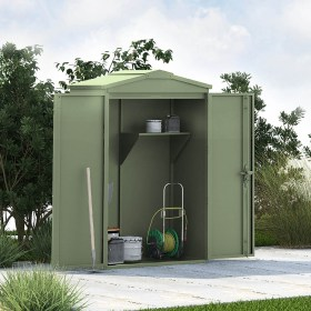 Outbox 5'x3' Secure Heavy Duty Metal Shed