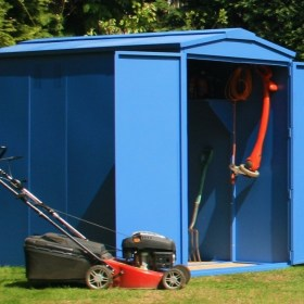 Outbox 5'x8' Secure Heavy Duty Metal Shed (Various Colours)
