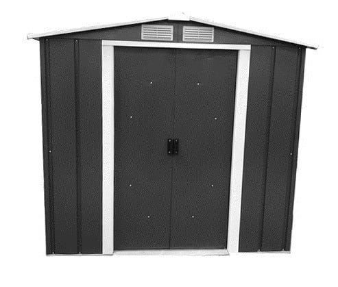 Sapphire 6x6 Metal Shed - Anthracite Resale