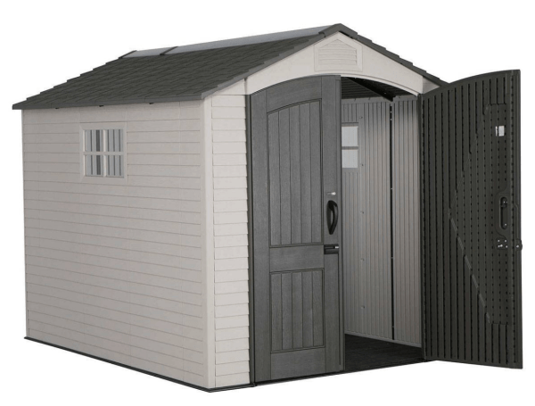 Lifetime 7ft x 9.5ft Heavy Duty Plastic Shed