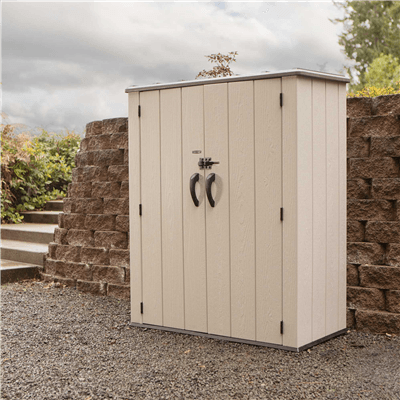 Lifetime 4.5ft x 2ft Vertical Storage Shed - Display Model (Collection or Local Delivery)