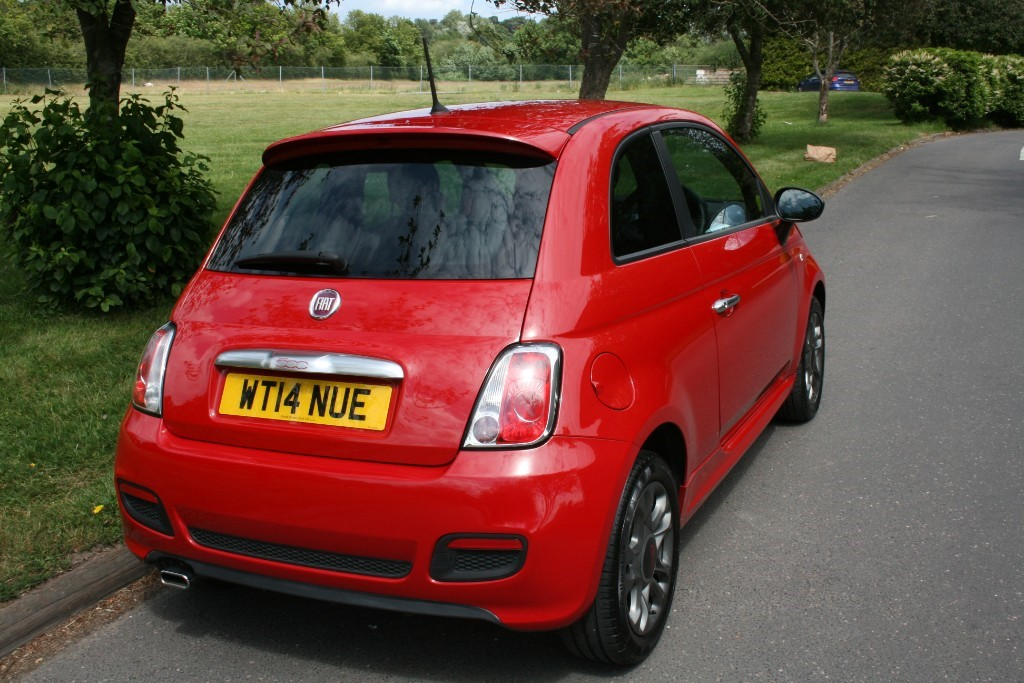 used pasodoble red fiat