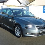Used Grey Metallic Skoda Superb For Sale Cheshire