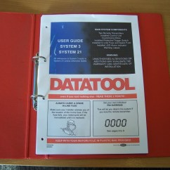 Datatool System 3 Wiring Diagram Ford Fiesta Mk7 Stereo S4 Red Motorcycle Gear Indicator
