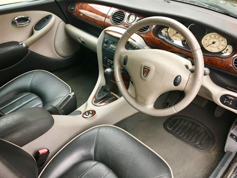 hight resolution of rover 75 connoisseur