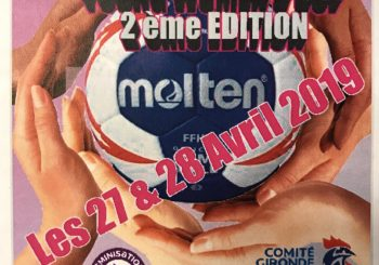 YOUNG WOMEN'S CUP          27 et 28 avril 2019
