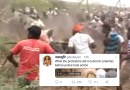 That's not a Tuticorin video showing protestors attacking cops.