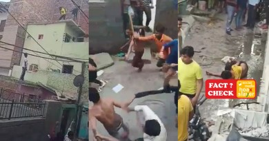 A video of boys beaten by mob in Jahangirpuri is wrongly linked to the recent Loni case.