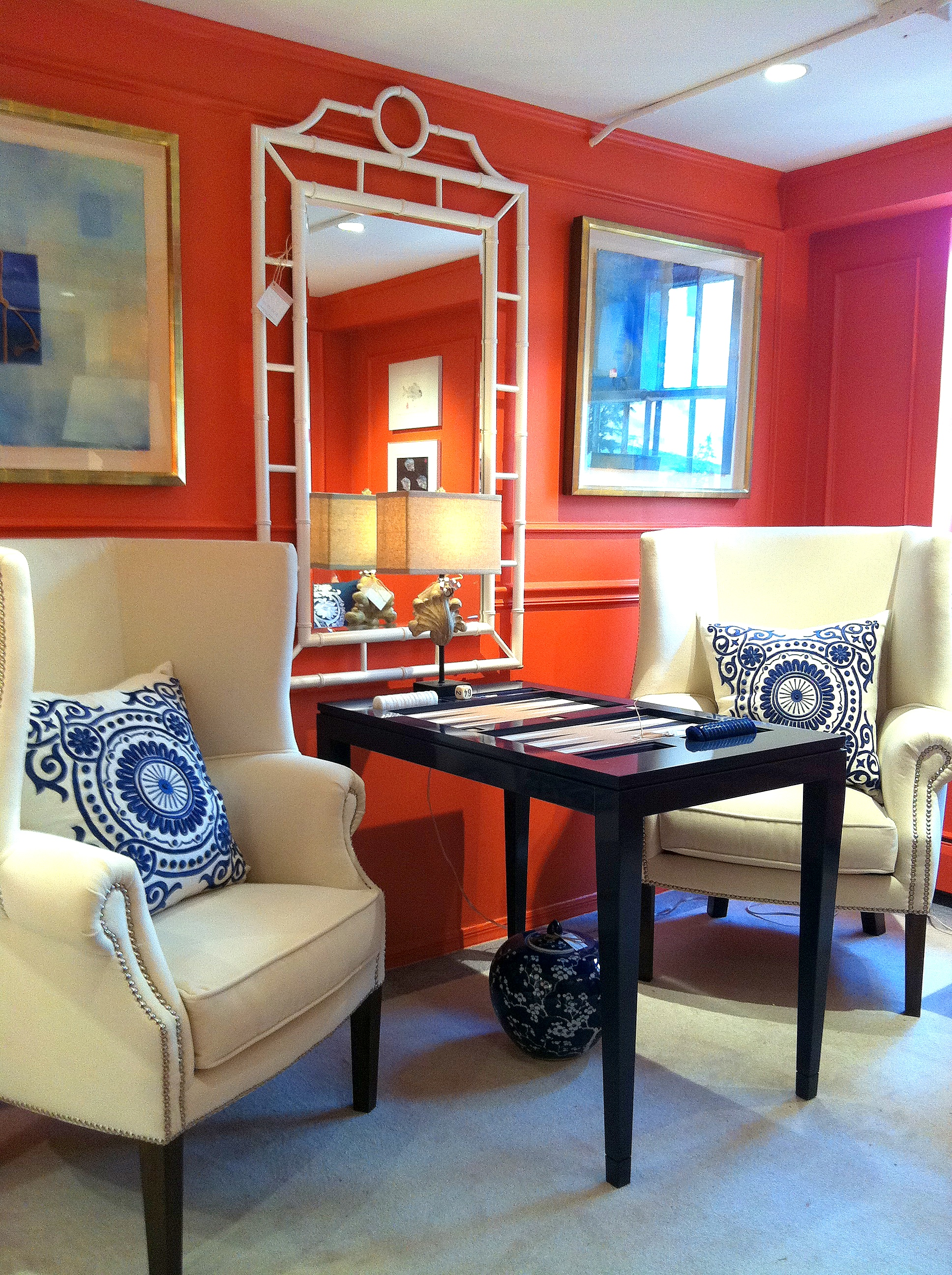 The Transforming Magic Of Bold Paint Color With Fine Art
