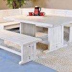 Bayside Breakfast Nook Dining Set By Sunny Designs Furniturepick