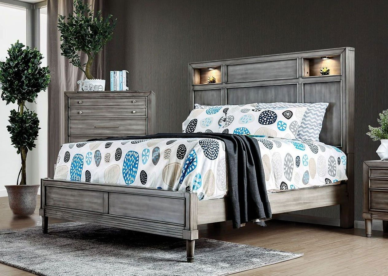 Daphne Bookcase Bedroom Set By Furniture Of America Furniturepick