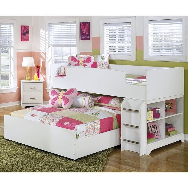 lulu twin over full loft bed