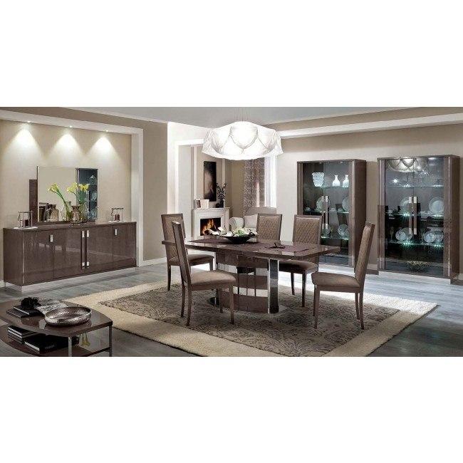 platinum slim dining room set