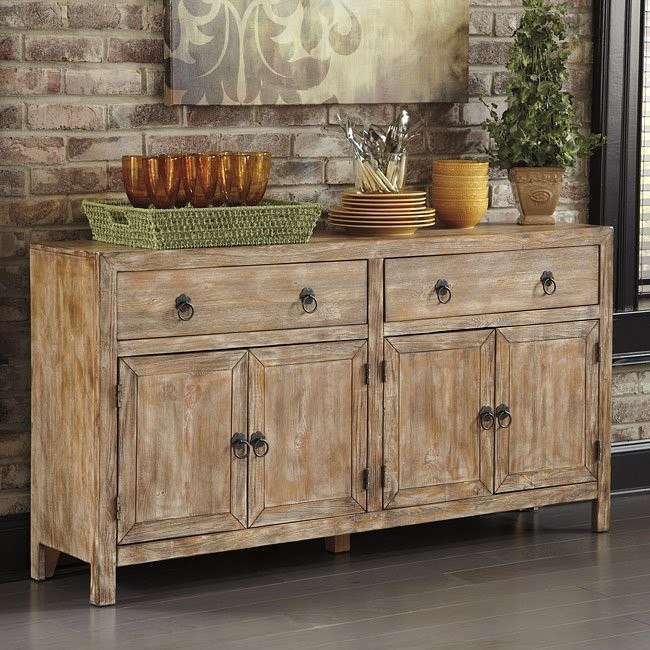 rustic accents cabinet bisque