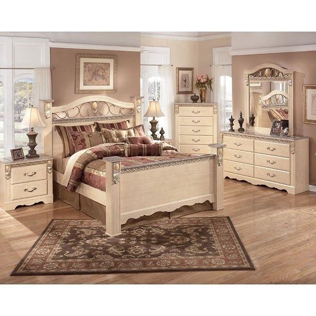 sanibel poster bedroom set