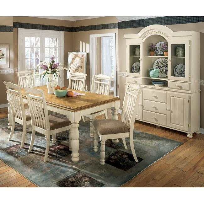 Cottage Retreat Extension Dining Room Set Signature Design By Ashley Furniture Furniturepick