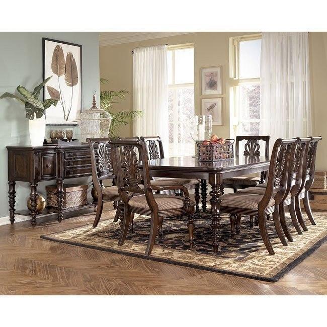 Key Town Formal Dining Room Set Signature Design By Ashley Furniture Furniturepick
